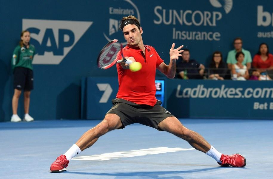 Roger Federer //DAVE HUNT /PAP/EPA