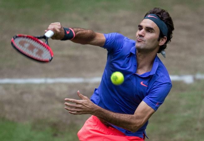 Roger Federer /PAP/EPA/MAJA HITIJ /PAP/EPA