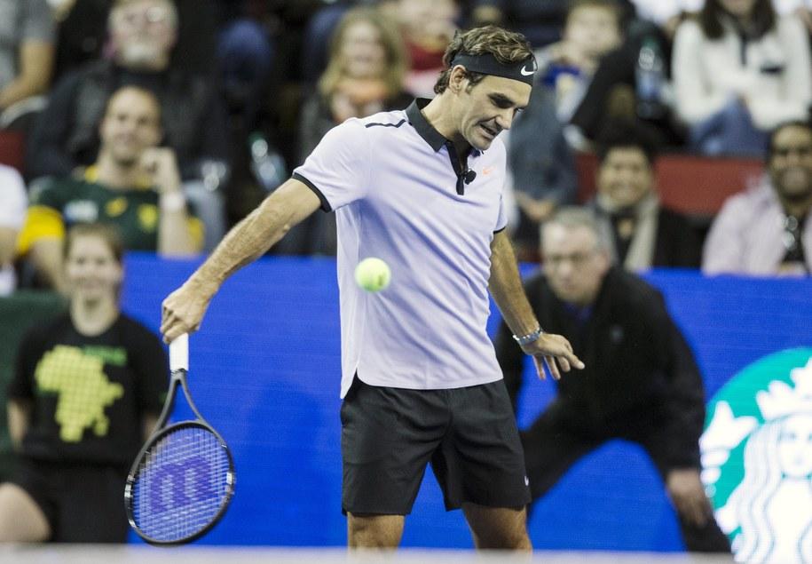 Roger Federer /STEPHEN BRASHEAR /PAP/EPA
