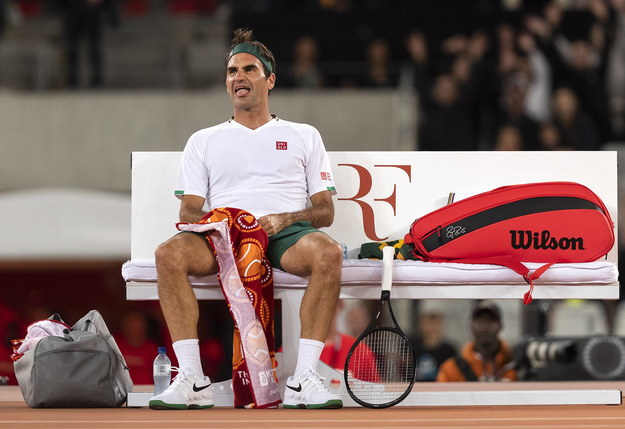 Roger Federer /NIC BOTHMA /PAP/EPA