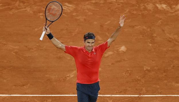 Roger Federer /IAN LANGSDON /PAP/EPA