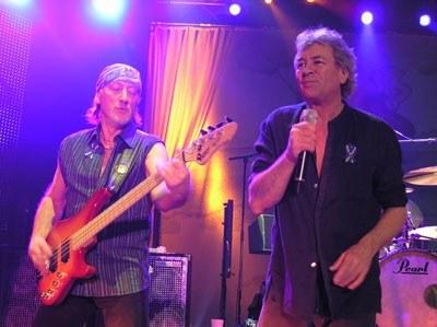 Roger Glover i Ian Gillan (Deep Purple) /INTERIA.PL