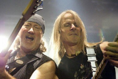 Roger Glover i Steve Morse (Deep Purple) /AFP