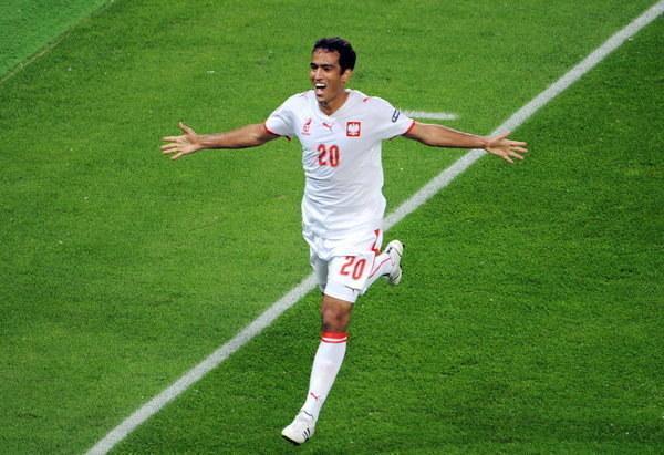 Roger Guerreiro zdobył jedyną bramkę dla Polski podczas Euro 2008 /AFP
