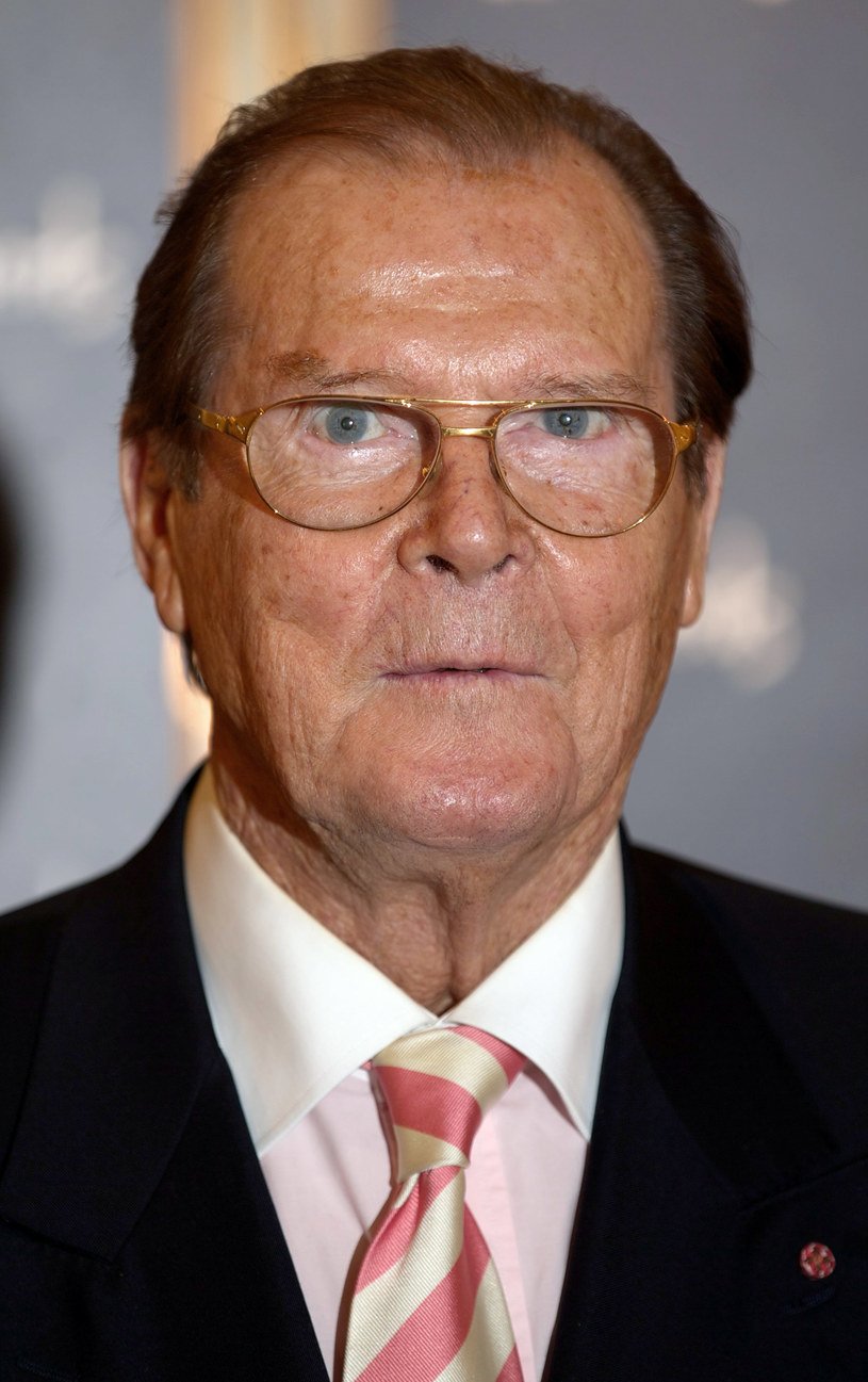 Roger Moore /- /Getty Images