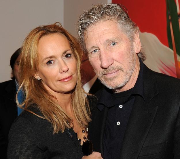 Roger Waters z narzeczoną - fot. Stephen Lovekin /Getty Images/Flash Press Media