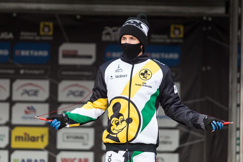 Rohan Tungate w barwach Falubazu /Wojciech Tarchalski /Newspix