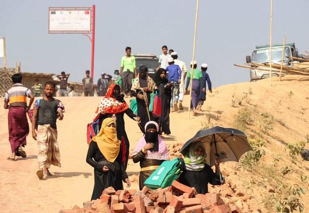 Rohingja jest uznawana za jedną z najbardziej prześladowanych mniejszości etnicznych na świecie /Abaca /PAP/Abaca