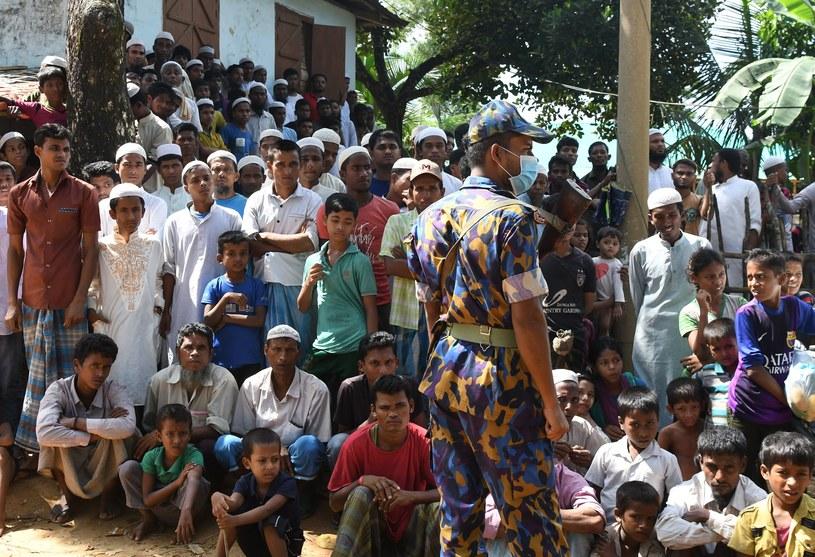 Rohingjowie z Birmy /TAUSEEF MUSTAFA/tm /AFP