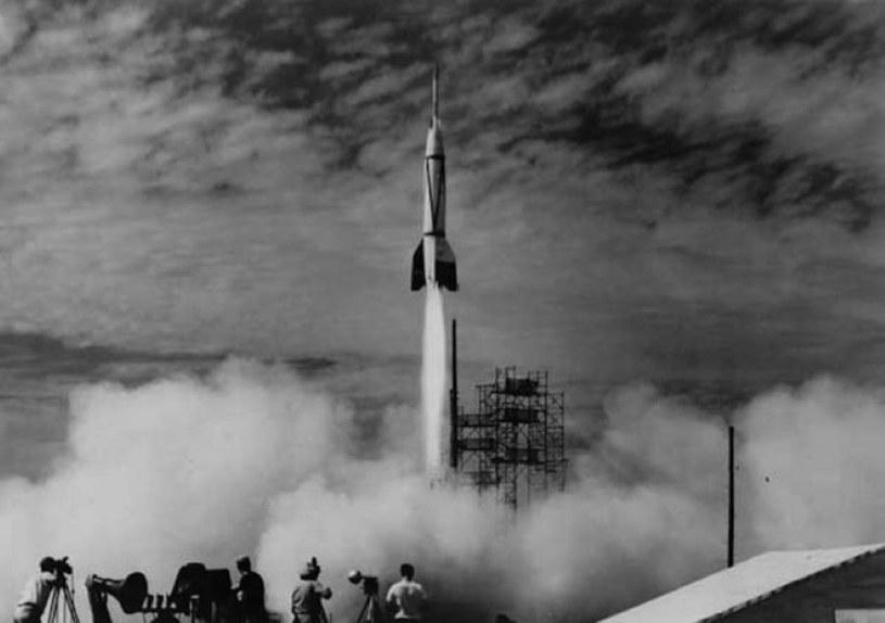 Rok 1950 i Projekt Bumper, czyli ponowne wykorzystanie rakiety V-2, tym razem już w ramach projektów Amerykanów /NASA