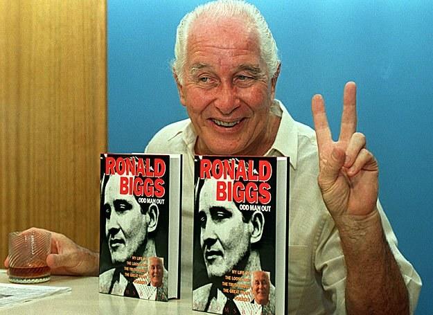 Rok 1994 był złotym okresem dla Ronniego Biggsa - był największą atrakcją Rio de Janeiro /AFP