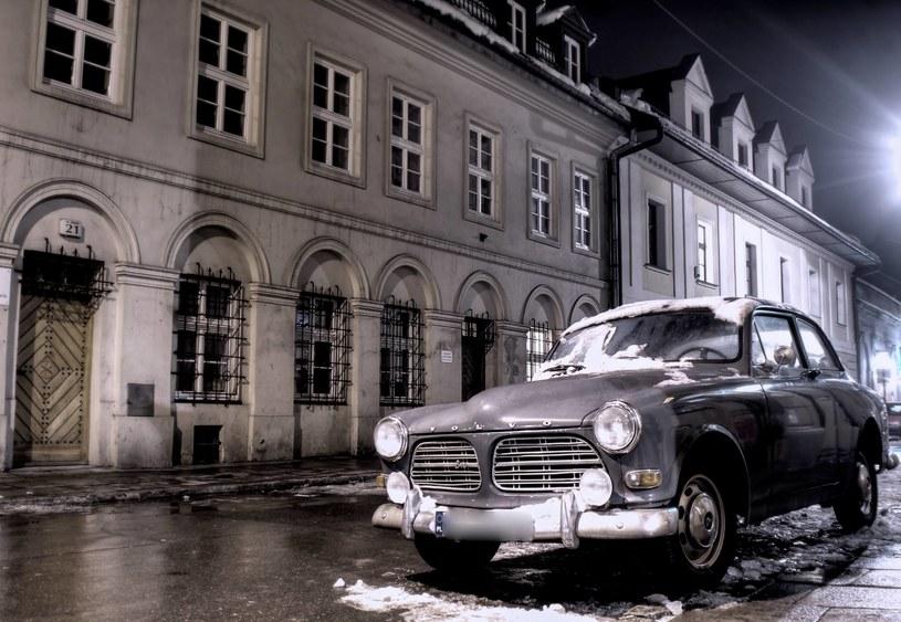 Rok 2006. Zdjęcie starego Volvo. Od niego wszystko się zaczęło. Zadecydowała jedna sekunda... /Postularis /materiały prasowe