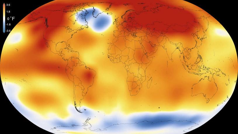 Rok 2015 był najcieplejszy odkąd prowadzi się pomiary temperatur /NASA