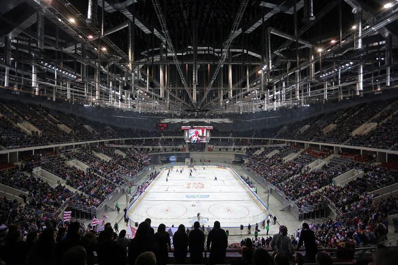 Rok temu, na meczu o Puchar Polski Comarch/Cracovia - Ciarko Sanok ustanowiono krajowy rekord frekwencji 12,5 tys. widzów w Kraków Arenie. /Mateusz Skwarczek /