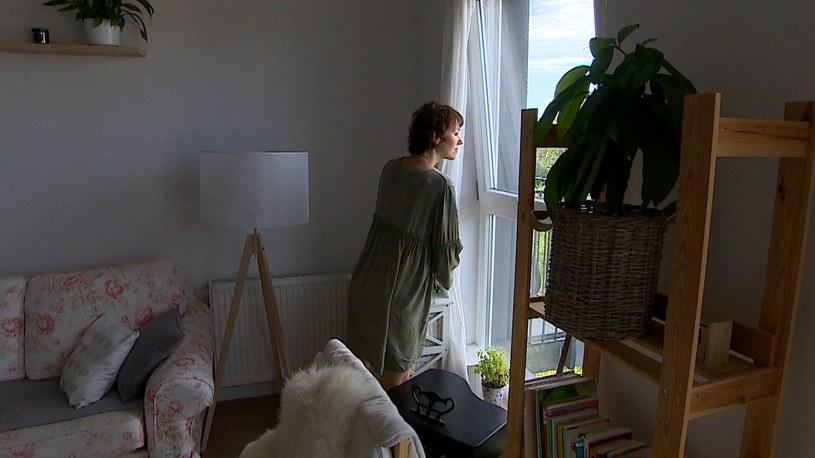 Rok temu pani Kamila zachorowała na raka. Leczyła się w Niemczech chemioterapią /Polsat