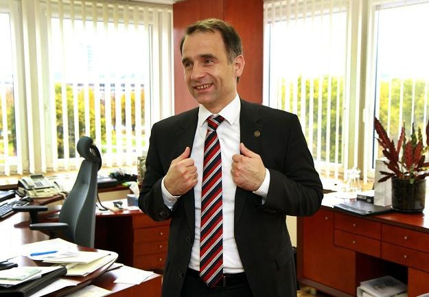 Rokas Masiulis, minister ds. energetykii Litwy /AFP