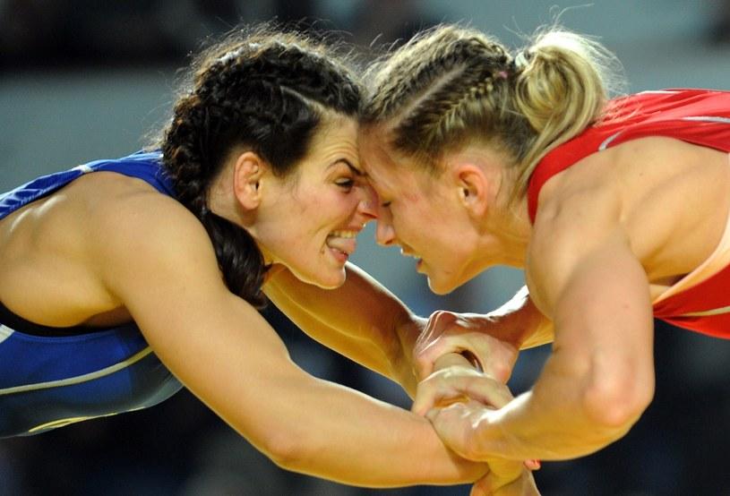 Roksana Zasina (na czerwono) /AFP