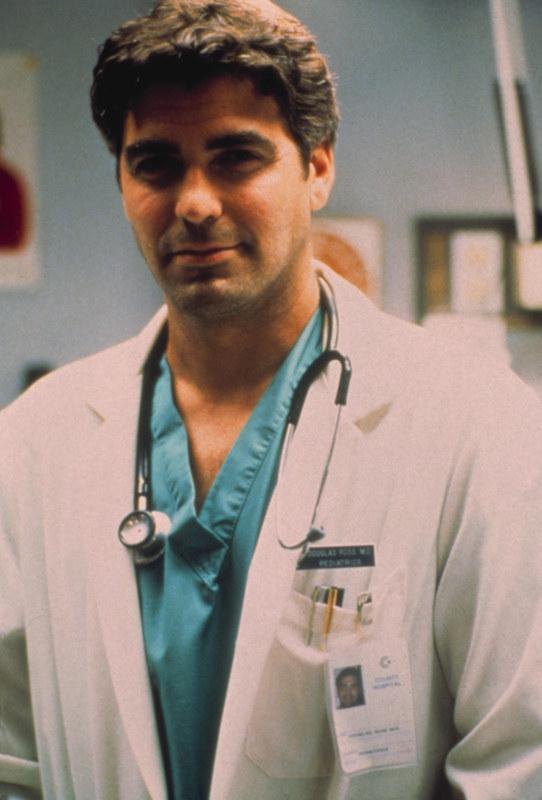 """Rola Douga Rossa w """"Ostrym dyżurze"""" przyniosła mu popularność i serca kobiet na całym świecie. Otworzyła mu także drzwi do kariery filmowej. W /AKPA"""