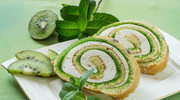 Rolada biszkoptowa z kiwi