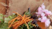 Roladki z marchewki ogórków