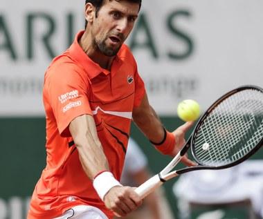 Roland Garros. Hurkacz przegrał z Djokoviciem w I rundzie