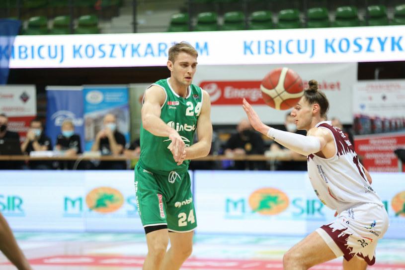 Rolands Freimanis (z lewej) /Piotr Jędzura /East News
