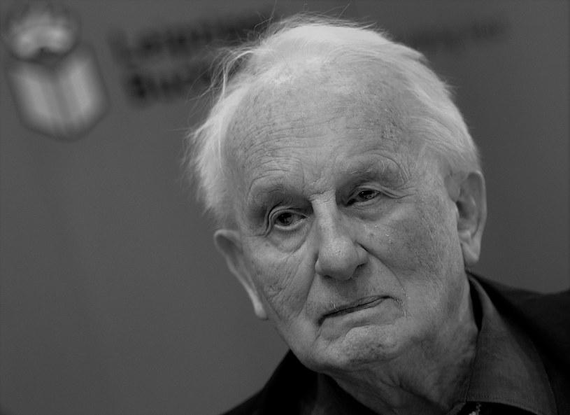 Rolf Hochhuth; zdjęcie archiwalne z 2016 roku /AFP