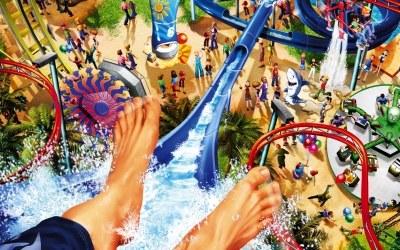 RollerCoaster Tycoon 3: Soaked! - fragment okładki z gry /Informacja prasowa