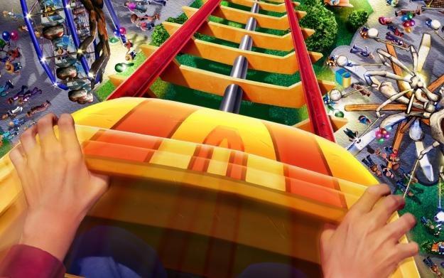 RollerCoaster Tycoon - motyw graficzny /Informacja prasowa