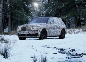 Rolls-Royce Cullinan. Pierwszy SUV w historii marki