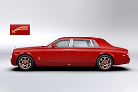 Rolls-Royce Phantom dla hotelu Louis XIII