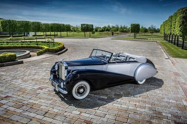 Rolls-Royce Silver Dawn z 1949 roku /Rolls-Royce