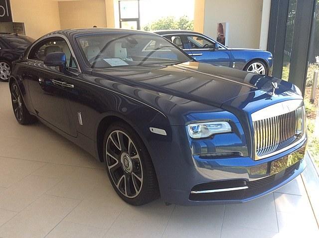 Rolls-Royce Wraith, który kupił Wojciech Szczęsny /Interia.pl /INTERIA.PL
