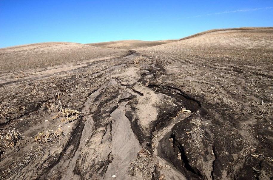 Rolnictwo jest jedną z podstawowych przyczyn erozji gleby /Rick Bohn / United States Fish and Wildlife Service (USFWS) /Materiały prasowe