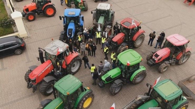 Rolnicy będą rozdawać ziemniaki mieszkańcom Warszawy /Polsat News /Polsat News