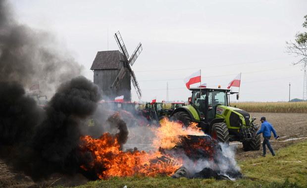 Rolnicy znów blokowali drogi. Rząd ma 2 tygodnie na podjęcie działań