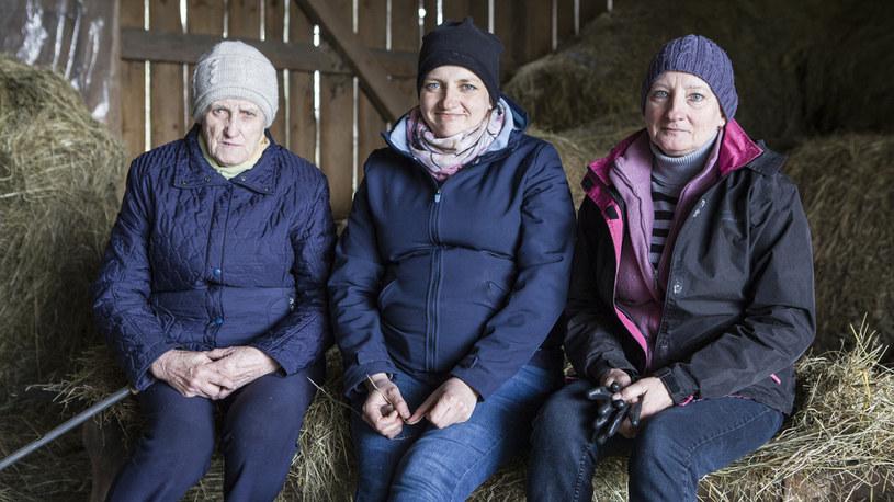 Rolniczki będą wyprowadzać nową klacz /FOKUS TV