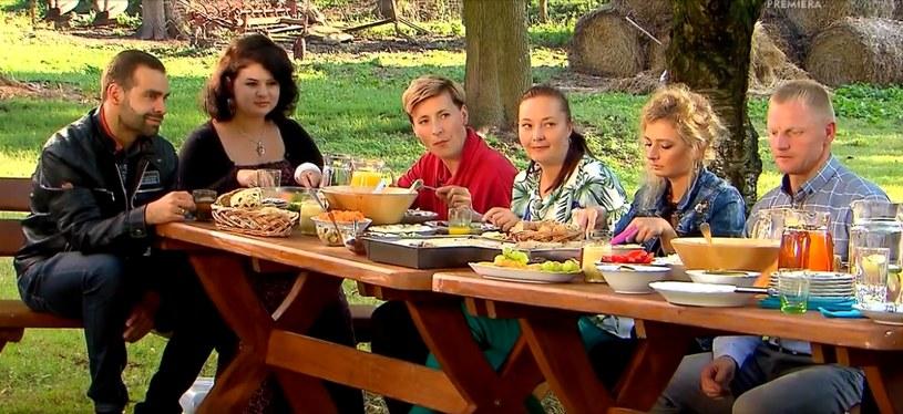 """""""Rolnik szuka żony 5"""": Rodzinne spotkanie u Marka (screen z ósmego odcinka) /materiały prasowe"""