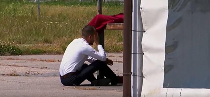 """""""Rolnik szuka żony 7"""": Rozpacz Dawida (screen z 8. odcinka) /materiały prasowe"""