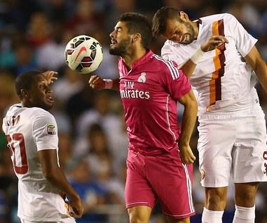 Roma pokonała Real, cały mecz Skorupskiego