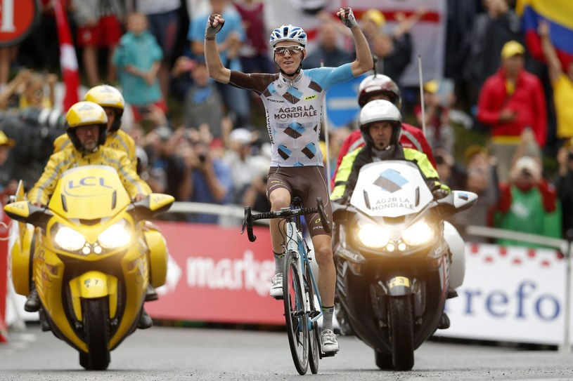 Romain Bardet wygrywa 19. etap TdF /PAP/EPA