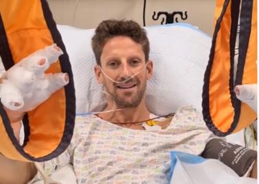 Romain Grosjean po dramatycznym wypadku: To mnie uratowało