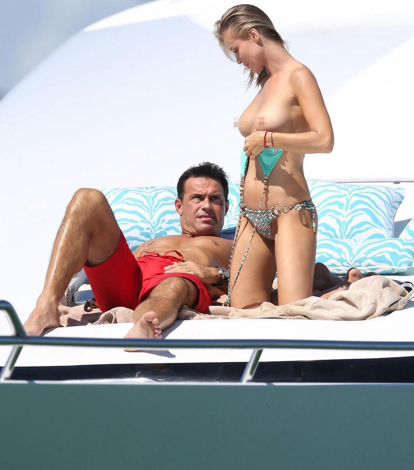 Romain Zago i Joanna Krupa /East News