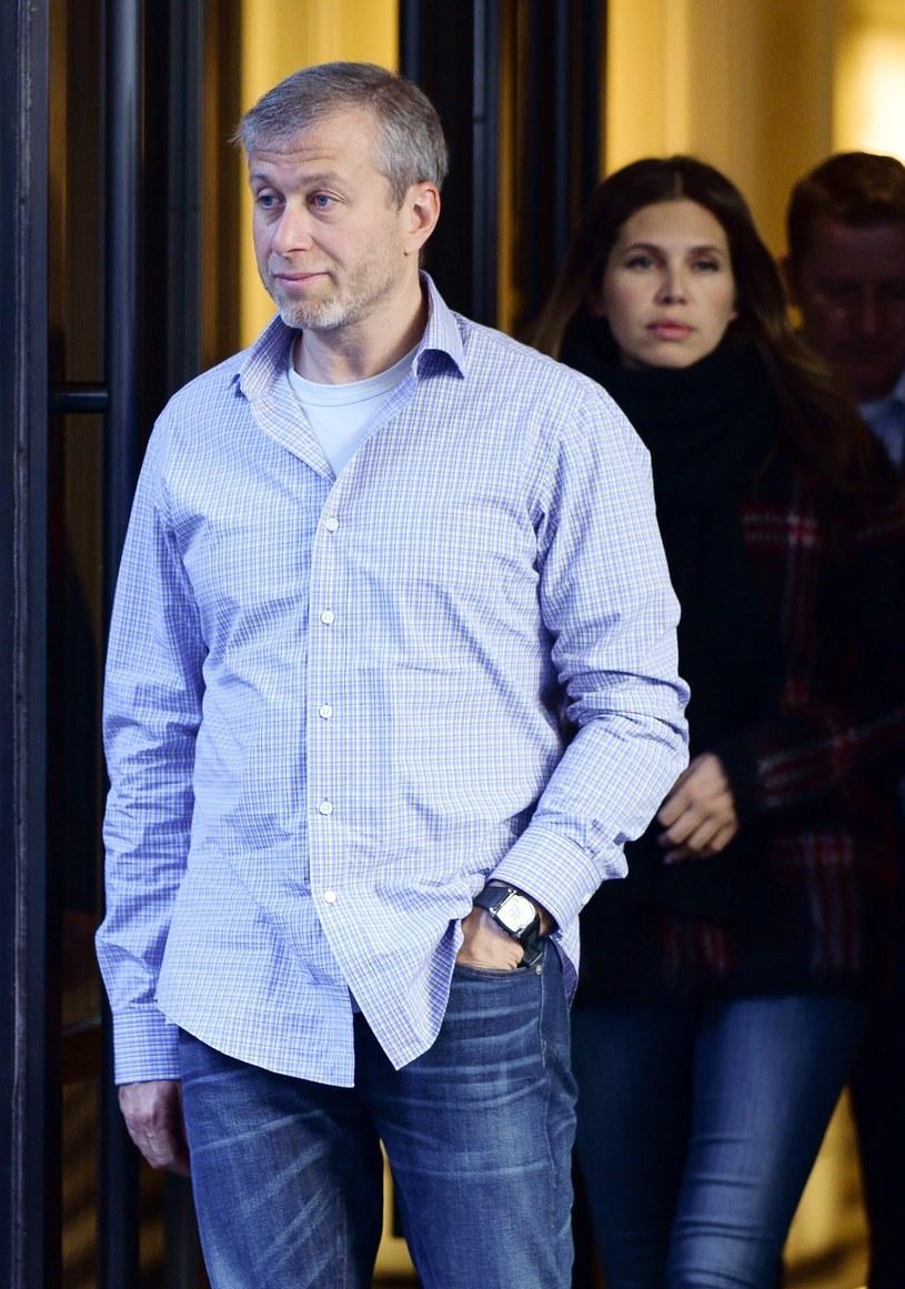 Roman Abramowicz z żoną /Headlinephoto / Splash News /East News