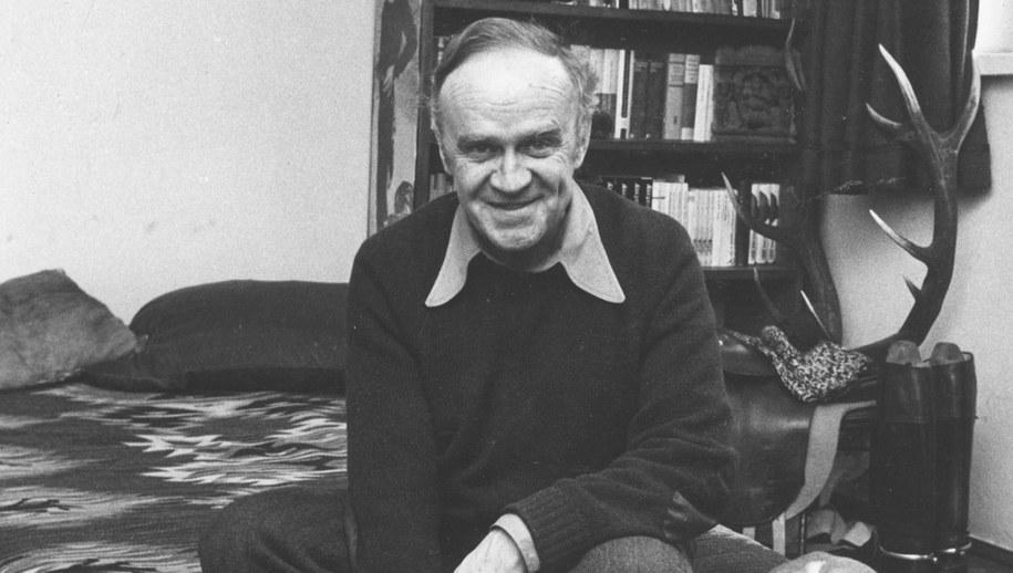 Roman Bratny w l. 70 /Zbigniew Matuszewsk /PAP