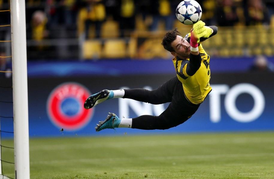 Roman Burki (Borussia) /Friedemann Vogel /PAP/EPA