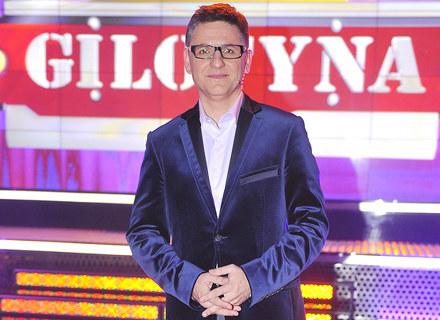 """Roman Czejarek - gospodarz teleturnieju """"Gilotyna"""" /AKPA"""