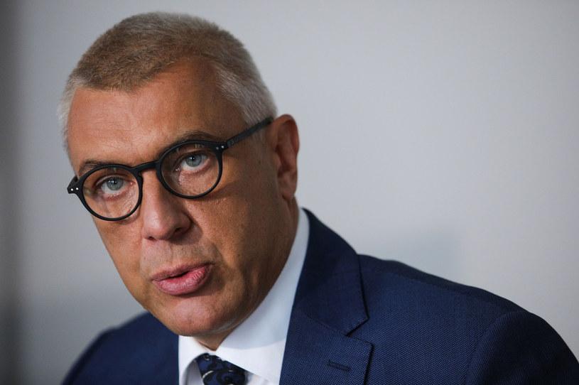 Roman Giertych został zatrzymany w październiku 2020 roku /Andrzej Hulimka  /Agencja FORUM