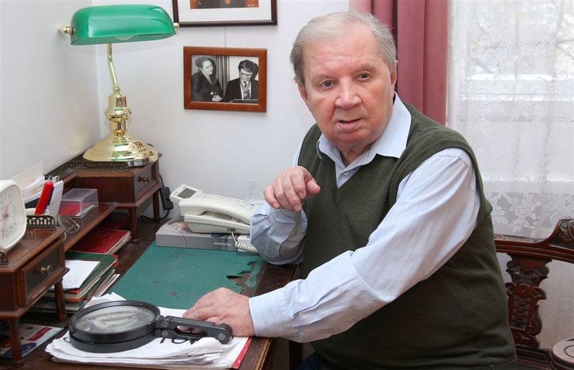 Roman Kłosowski urodził się 14 lutego 1929 roku w Białej Podlaskiej /Agencja W. Impact