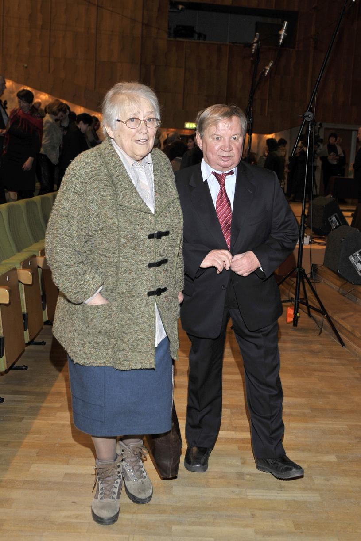 Roman Kłosowski z żoną, 2012 rok /AKPA